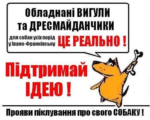 ВИГУЛИ та ДРЕСМАЙДАНЧИКИ для собак у ІВАНО-ФРАНКІВСЬКУ - ЦЕ РЕАЛЬНО!